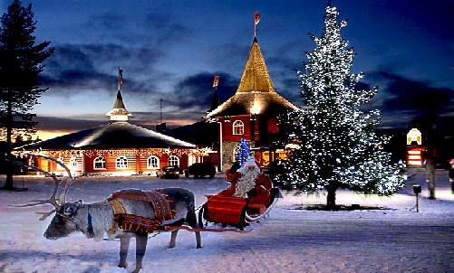 Туры в лапландия на новый год из спб
